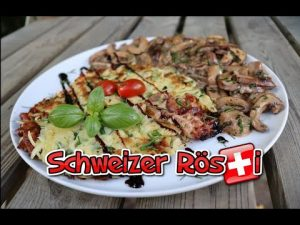 Schweizer Rösti, Originalrezept, Rezept