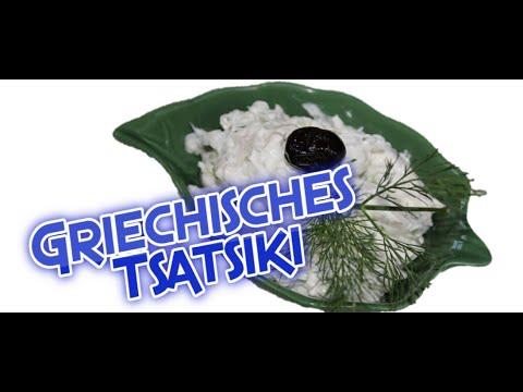 Tsatsiki, Rezept, Originalrezept