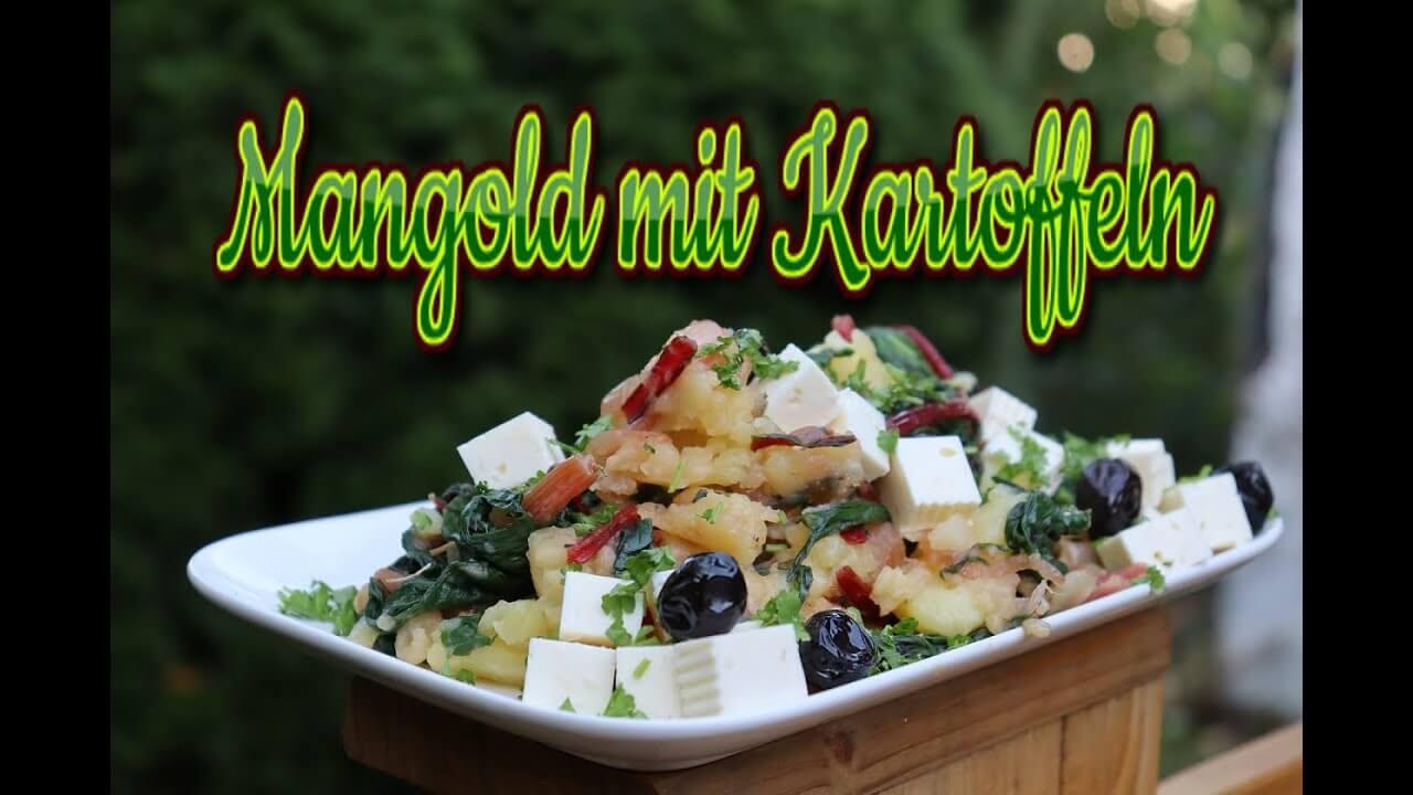 Mangold Rezept, Blitva, Mangold mit Kartoffeln, blitva, recept