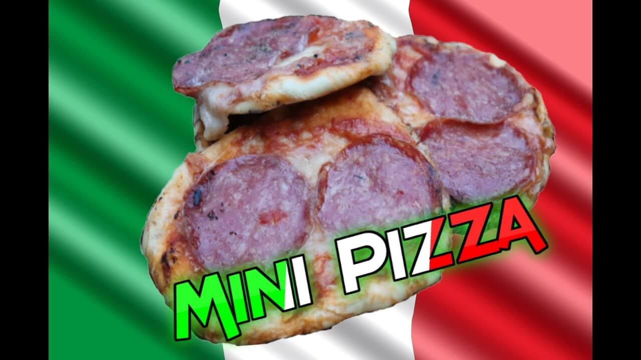 Mini Pizza, Pizza, Rezept, recipe