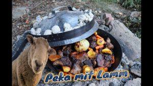 Lamm zubereiten, Kroatische Peka, Rezept, Lammfleisch, Lamm, Rezept