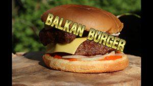 balkan burger, hamburger, rezept, beste burger, bester burger, burger mit cevapcici, cevapcici burger