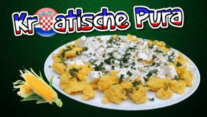 pura, palanta, polenta, rezept, maisgriess, kochen, zubereiten, zutaten, kroatische, bosnische, balkan, rezept, mamaliga