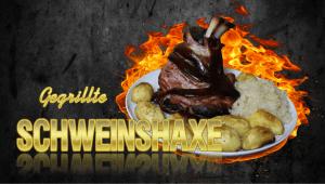 Schweinshaxe grillen, gegrillte Schweinshaxe, Schweishaxe, grillen, Grill, gegrillt, Rezept, Haxe, Haspel, Schweinehaxe, Eisbein, Smoker, räuchern, pökeln