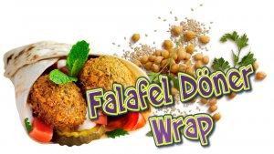 Falafel, Kichererbsen, Falafel Wrap, Kichererbsen Falafel, Falafel Döner, Falafel selber machen, Rezept, Rezept Falafel