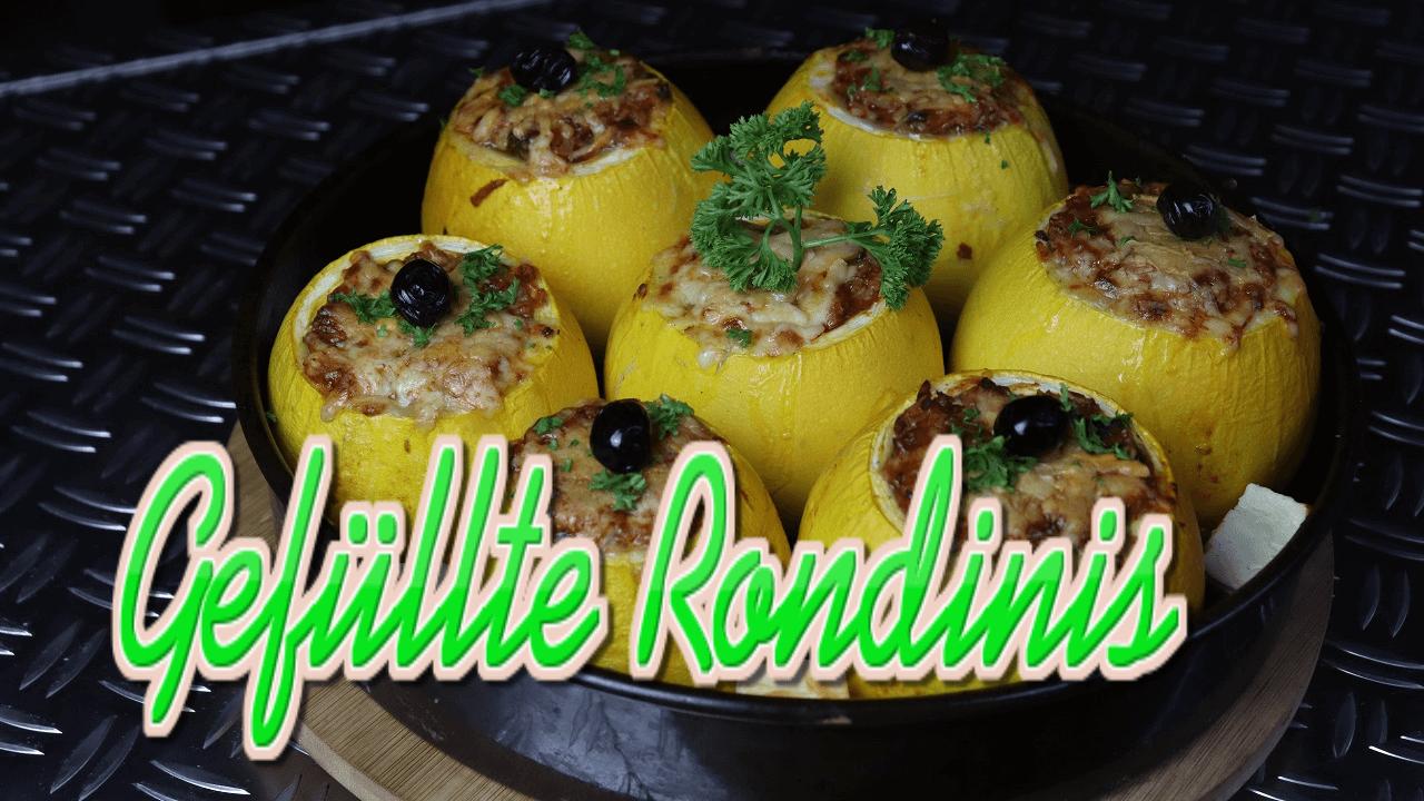 Rondini Rezept, Rondini, gefüllte Rondini, Rondini zubereiten, Rondini füllen, Rondini mit Hackfleisch, Rondini essen, kochen